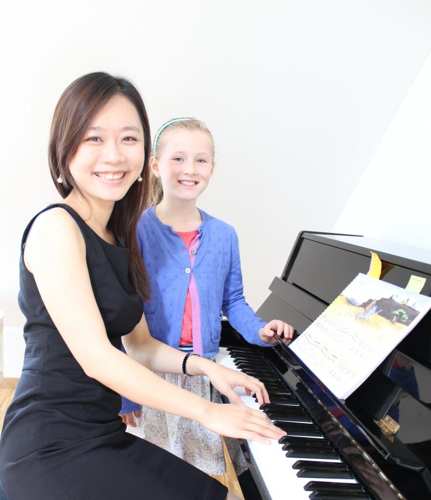Pei-Tzu Liao Klavierlehrerin