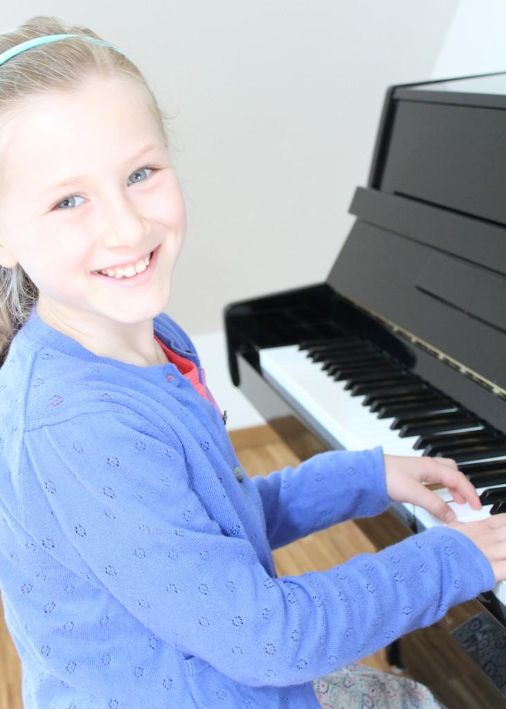 Klavierunterricht mit Kinder